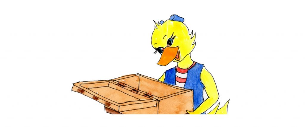 It's Empty! Dee the Duck and the Treasure Box.